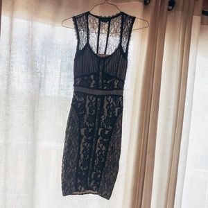 "BEBE size XXS ""little black dress"""